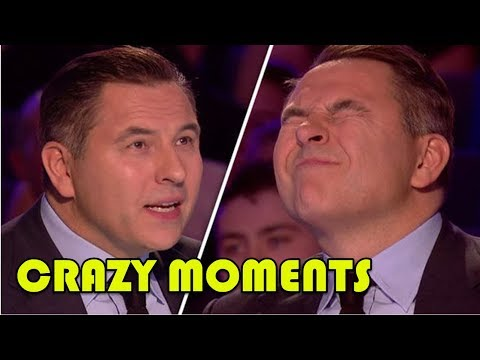 "Top 10 Best ""DAVID WALLIAMS's CRAZY MOMENTS"" and Golden Buzzers!"