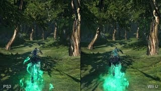 Darksiders 2: PlayStation 3 vs. Wii U Comparison Video