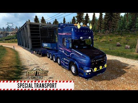 ETS2 1.30 Special Transport DLC Scania T730 Dortmund - Hannover