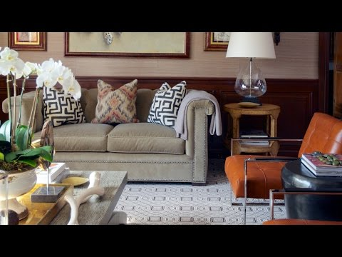 Interior Design –  Tour A Tudor Home With Pattern And Personality