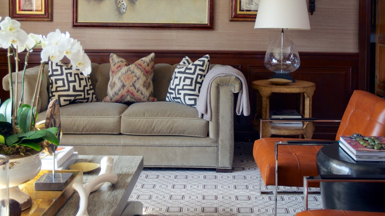 Interior design tour a tudor home with pattern and for Www homedesigns com