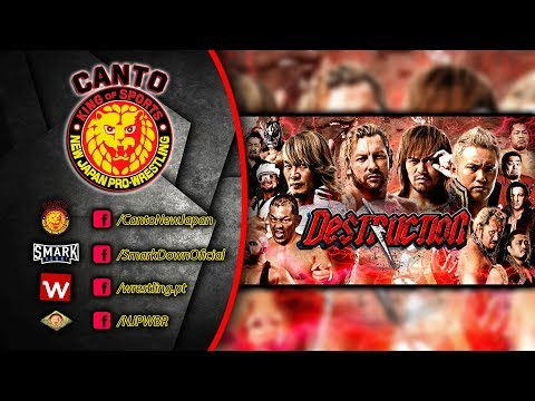 Canto New Japan #68 - Notícias Destruction, IWGP Jr. Heavyweight Championship