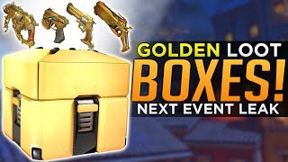 Overwatch: GOLDEN Lootboxes!? - Next Event LEAK (Data Mined) thumbnail