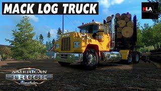 American Truck Simulator - Mack Log Truck