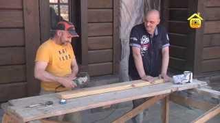 видео Как искусственно состарить древесину и деревянные изделия?