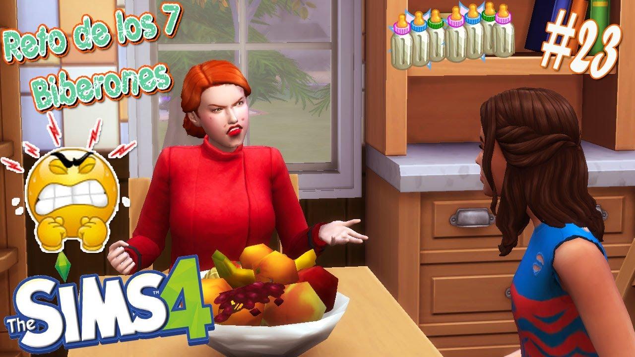 Conversacion Sobre Juan Hace Enojar A Abril Los Sims 4 Reto 7 Biberones 23 Youtube