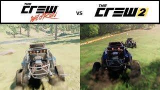 ✪ The Crew 2 vs The Crew Wild Run - Graphics Comparison (HD)