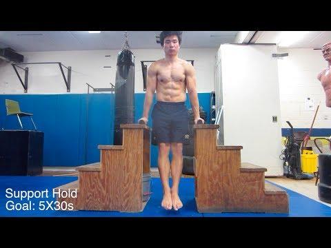 Basic Bodyweight Training Requirements (맨몸운동 필수조건들)