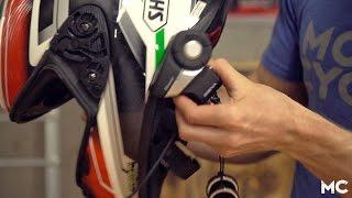 how to install a sena 20s bluetooth communicator   mc garage