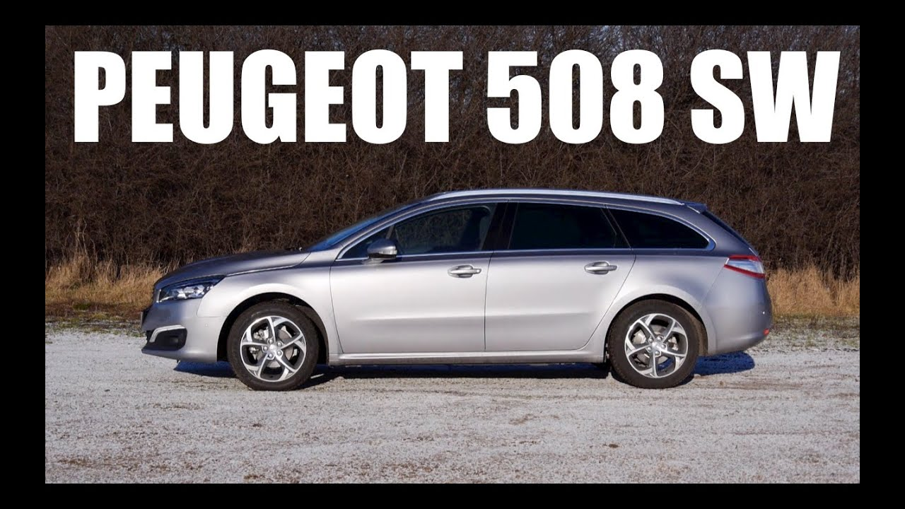 (ENG) Peugeot 508 SW 2015  Test Drive and Review  YouTube