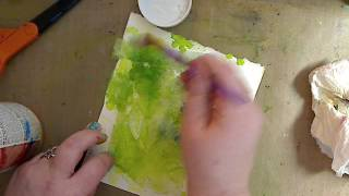 How to Reuse Dryer Sheets in your Art