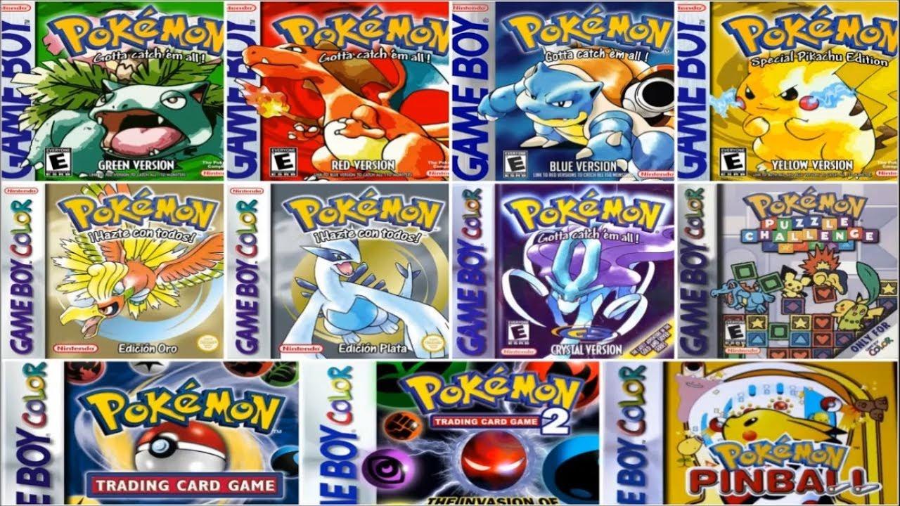 descargar juegos de pokemon para emulador my boy free
