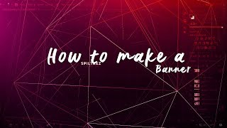 how to make a simple clean youtube banner in photoshop cc cs6 2017 tutorial
