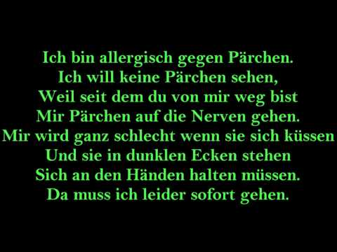 Annette Louisan Pärchenallergie lyrics