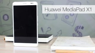 Huawei MediaPad X1: Обзор «ручного» планшета