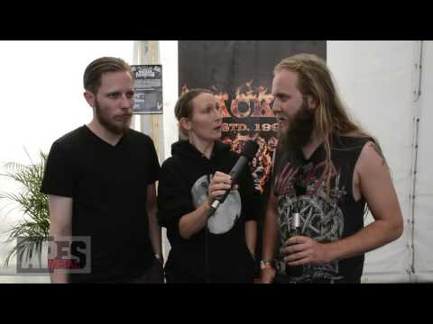 Interview with Metal Battle band AUDN from Iceland at Wacken Open Air 2016