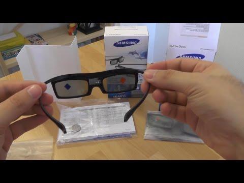 Samsung 3D Glasses Unboxing And Setup [HD]