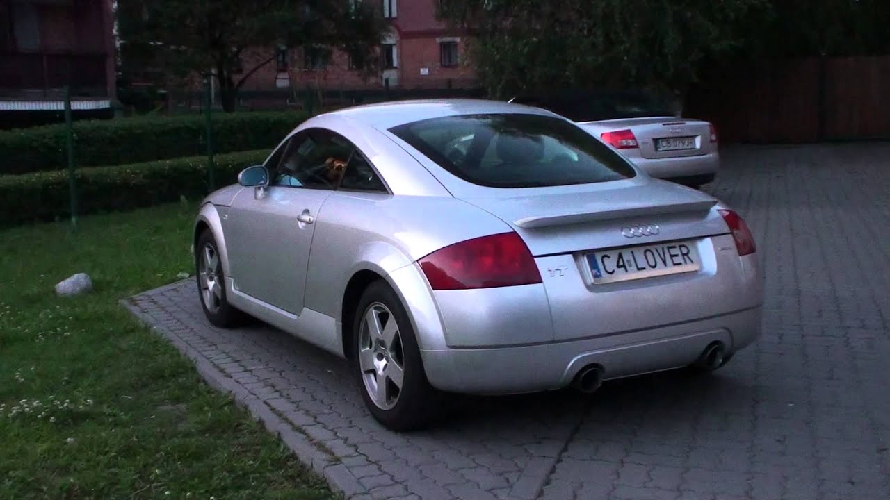 audi tt 8n mk1 blueflame cat back exhaust sound youtube. Black Bedroom Furniture Sets. Home Design Ideas