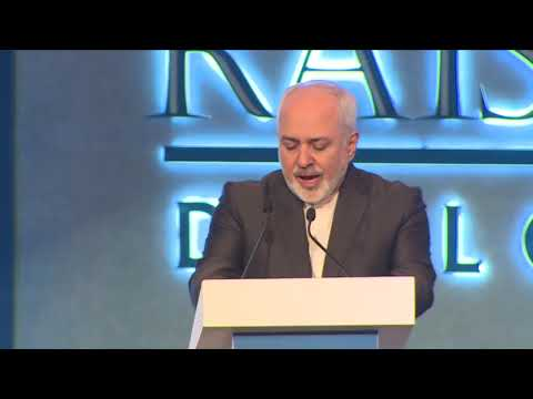 Raisina 2019 | Ministerial Address| Mohammad Javad Zarif, Minister of Foreign Affairs, Iran