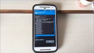 Backup Rooted Moto G 3G (Moto G 2014) Using TWRP Recovery