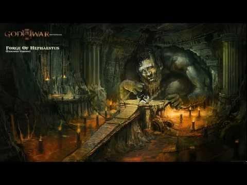 Forge Of Hephaestus (Full) -Ω- God Of War III Soundtrack ♫