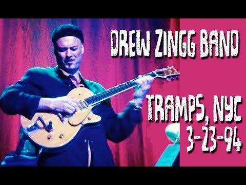 Drew Zingg Band LIVE at Tramps, NYC 3/23/94