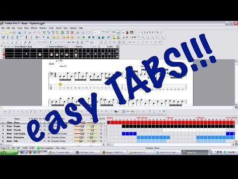 TAB LESSON--LEADER OF THE BAND FULL GUITAR PRO TUTORIAL LESSON by ...