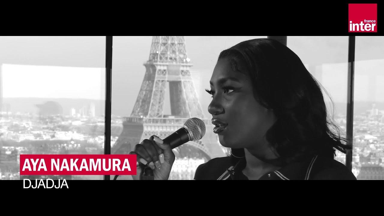"""Download """"Djadja"""" : Aya Nakamura en live pour France Inter - POP UP !"""