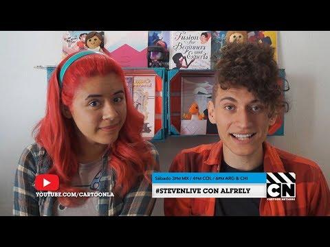 No te pierdas nuestro Steven Universe Live con Alfrely | Cartoon Network