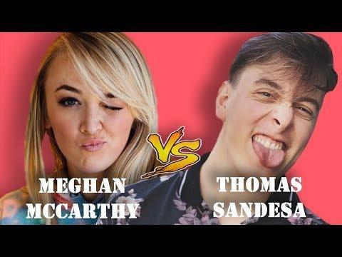 TOP Meghan McCarthy Vines vs TOP Tomas Sanders Vines   Best Battle Vines - Vine Age✔