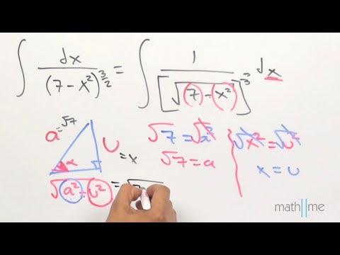 Integración por sustitución trigonométrica │ ej 2