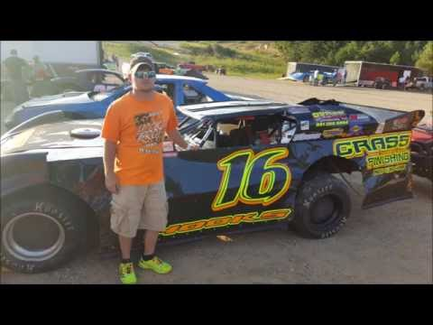 #16 Brian Hooks - Sportsman - 9-4-16 - Wartburg Speedway - In-Car Camera