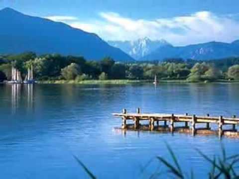 CHIEMSEE  LAKE  BAVARIA  GERMANY