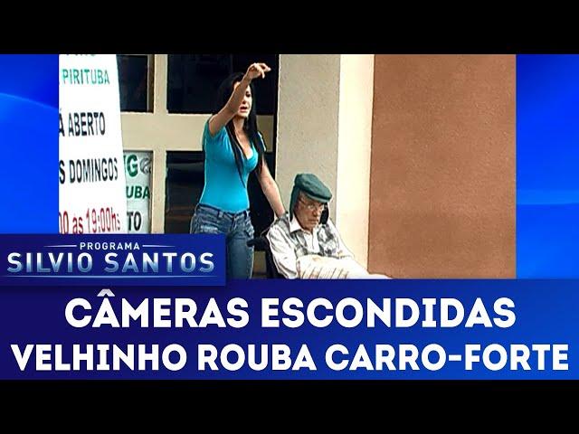 Velhinho Rouba Carro-Forte | Câmeras Escondidas (23/12/18)