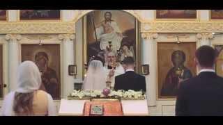 Денис и Виктория - красивый обряд Венчания