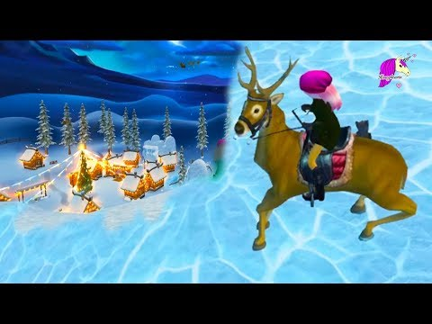 Winter Village Wish Shop Free Fashion + Horse Tack Star Stable Online Snow World