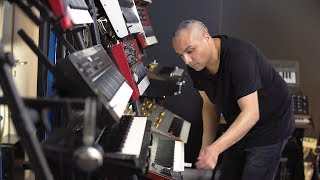 Anthony Rother's Studio is a Modular Utopia (EB.TV Tech Talk)