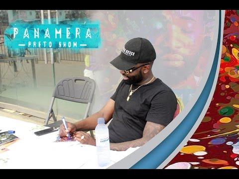 Preto Show Troca o seu Album Panamera por  donativos em Cabinda
