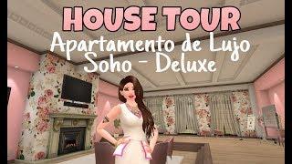 Avakin Life House Tour: Apartamento de lujo Soho - Deluxe (Club🎀Pink Ladies)