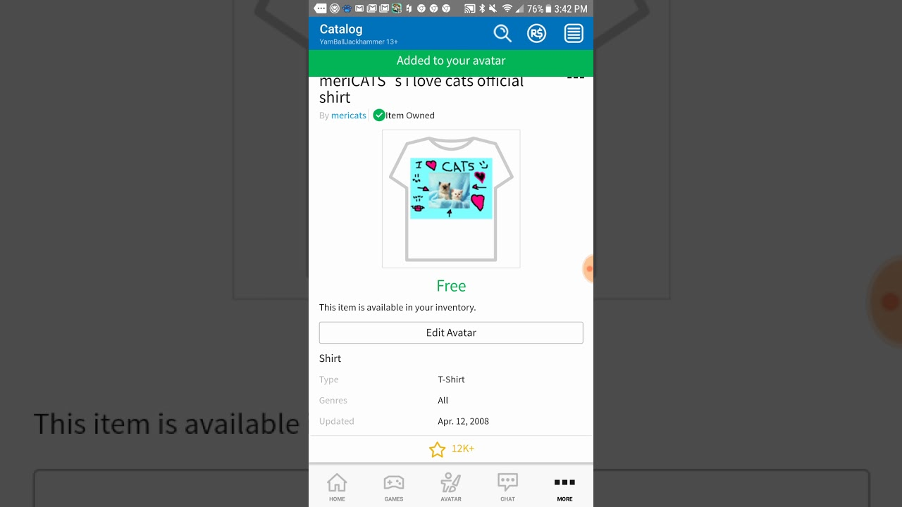 How To Put A T Shirt On In Roblox On Mobile Youtube