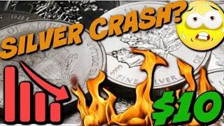 Silver Crashing to $10? Buy or Panic Sell?