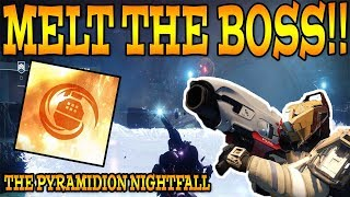 Destiny 2 THE PYRAMIDION NIGHTFALL New Modifier  How To Complete Nightfall 92617