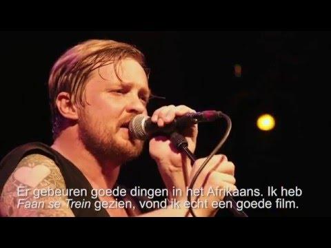 Francois van Coke over Afrikaans en Amsterdam