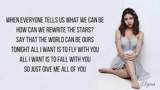 Rewrite The Stars - Kristel Fulgar & Marlo Mortel cover (Lyrics)
