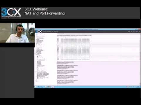 3CX Basic Training: 4 1 NAT and Port Forwarding v12 5