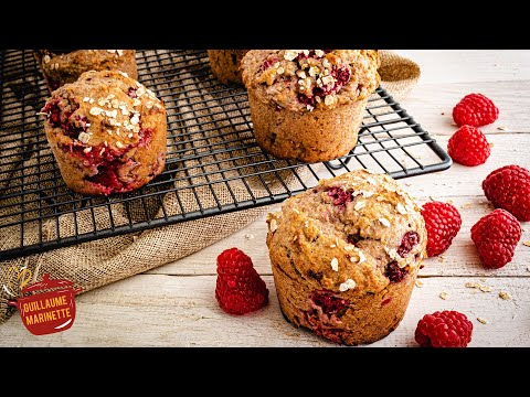 muffins-healthy-aux-framboises,-comment-faire-?-recette-facile-et-rapide
