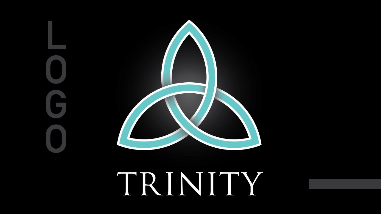 Professional Trinity logo based on Celtic Knot in ...