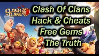 clash of clans hack and cheats free gems the truth