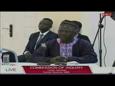 Lamin Jammeh Former Governor Of North Bank Region Testifies At The Commission Of Enquiry