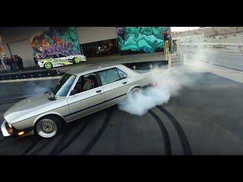 [HOONIGAN] Club Days – Classic BMWs take over the Donut Garage
